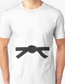 Judo Black Belt Unisex T-Shirt