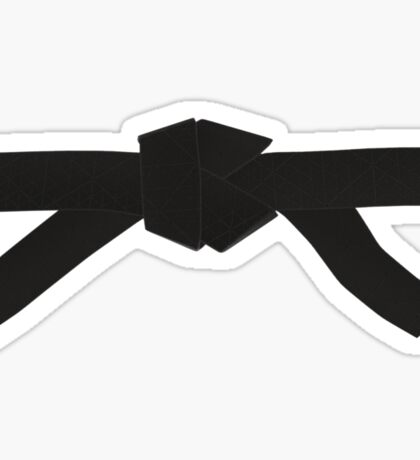 Judo Black Belt Sticker