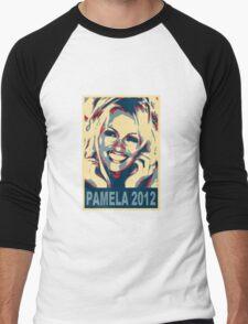Pam for President! Men's Baseball ¾ T-Shirt