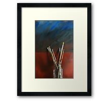 Artists Brushes Framed Print