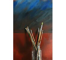 Artists Brushes Photographic Print