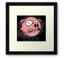 Hamplanet Framed Print
