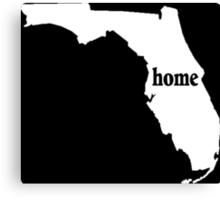 Florida Home Tshirts - Custom Clothing Canvas Print