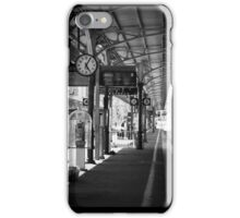 Waiting on the 5:20 from Ventimiglia to Cannes iPhone Case/Skin