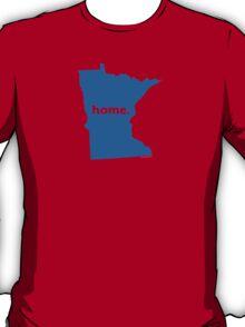 Minnesota Home Blue T-Shirt