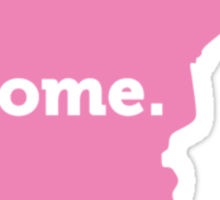 Minnesota Home Pink Sticker