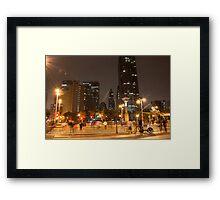 San Francisco Embarcadero Framed Print