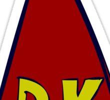 DK Donkey Kong Tie Sticker