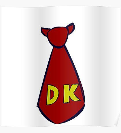 DK Donkey Kong Tie Poster