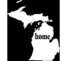 Michigan Home Tshirts - Custom Clothing Photographic Print