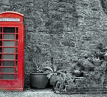 Old telephone Box 2 by GaryK Photography