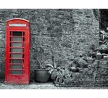 Old telephone Box 2 Photographic Print