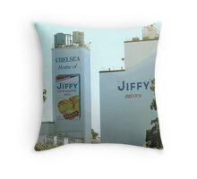Home of Jiffy Mix Throw Pillow