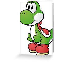 Paper Yoshi Greeting Card