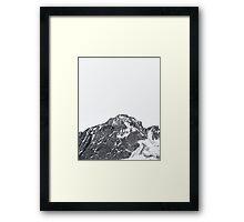 Snow Cap Framed Print