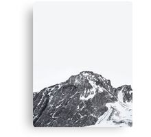 Snow Cap Canvas Print