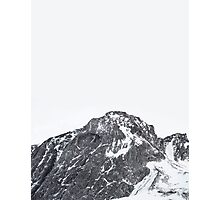 Snow Cap Photographic Print