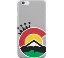 CO Crown iPhone Case/Skin