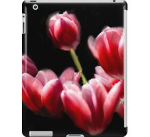 STARRED PINK TULIPS iPad Case/Skin