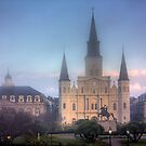 Jackson Square in Fog by steini