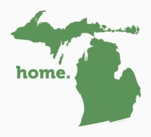 Michigan Home Green by USAswagg
