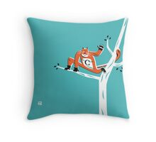Super C (m) Throw Pillow
