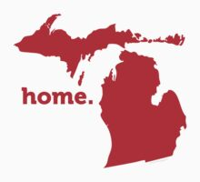Michigan Home Red by USAswagg