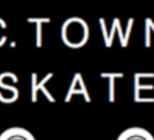 C. Town Skate Small badge Sticker