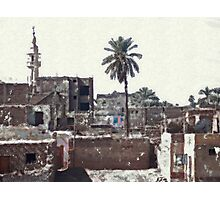 village in egypt Photographic Print