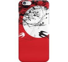 Oriental Swallows In Moonlight  iPhone Case/Skin