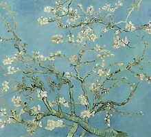 Van Gogh's work Almond Blossom reflected his interest in Japanese wood block prints. Vincent van Gogh said - Arles was the Japan of the South. by Adam Asar