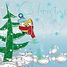 Lulu-Owl on Christmas Tree by Manana11