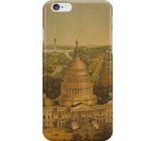 View of Washington City iPhone Case/Skin