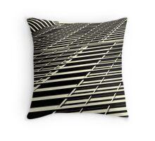Condo lines Throw Pillow