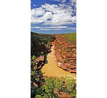 Murchison River Gorge - Western Australia  Photographic Print