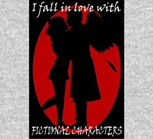 I fall in love with fictional characters! Unisex T-Shirt