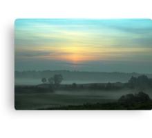 Fog Layers Canvas Print