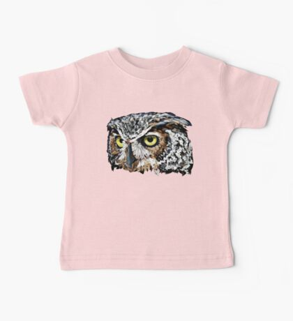 The Great Horned Owl Shirt Baby Tee