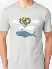 Pirate Whale Lord Unisex T-Shirt