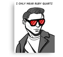 Only Ruby Quartz Canvas Print