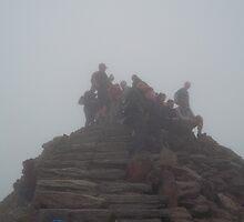 Snowdon Summit; 3,560 feet by wiggyofipswich