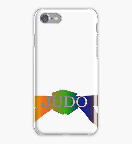 Judo Belt - Gradient iPhone Case/Skin