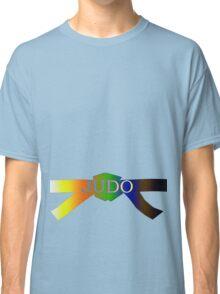 Judo Belt - Gradient Classic T-Shirt