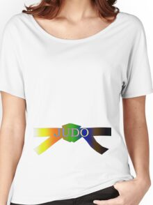 Judo Belt - Gradient Women's Relaxed Fit T-Shirt