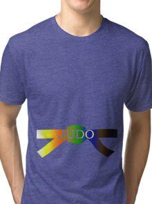 Judo Belt - Gradient Tri-blend T-Shirt