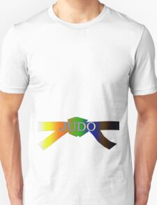 Judo Belt - Gradient Unisex T-Shirt