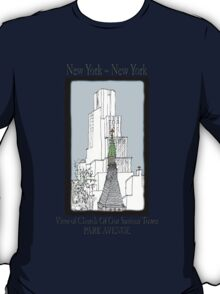 NYC~Church Steeple, open the doors and see all the people T-Shirt