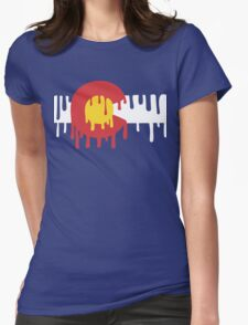CO Drip Womens Fitted T-Shirt