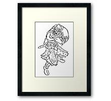 Dragon Kin Celtic Framed Print