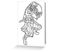 Dragon Kin Celtic Greeting Card